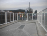 Asda Glazed screens 2m tall