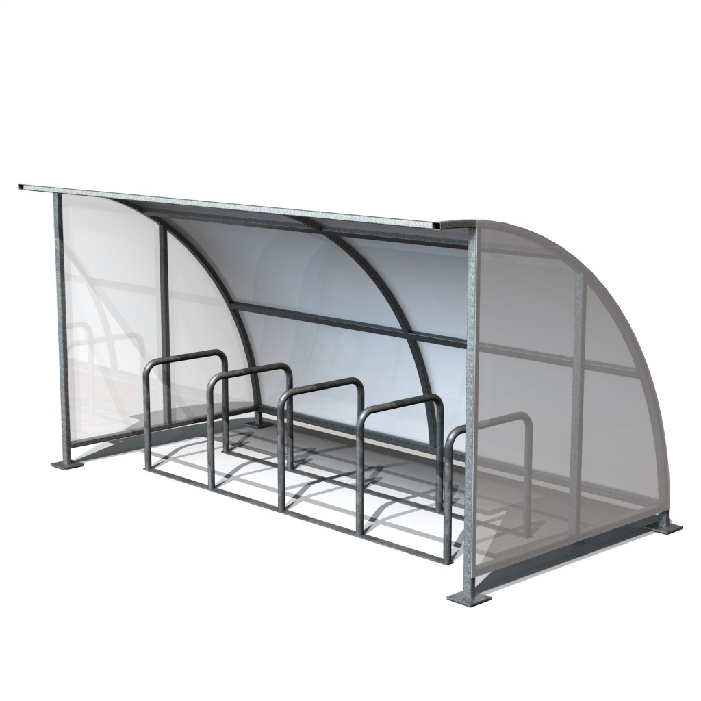 Cycle Shelter Galvenised
