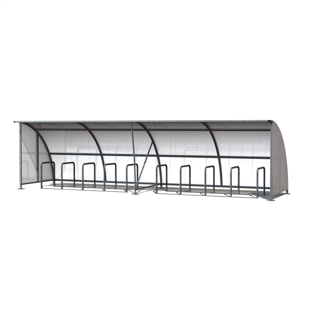 Hennessey Cycle Shelter 8m Render 2