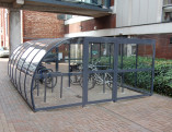6m x 4.5m Manchester Cycle Shelter 20 Cycles