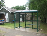 3 Bay Bus Shelter with Full End Panels